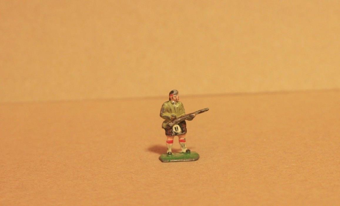 MINI LEAD TOY SOLDIER SCOTTISH ARMY - 100% ORIGINAL - Q 907
