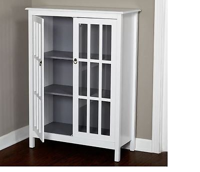 Cabinet Storage Organizer Cupboard Shelf Bath Furniture Home Decor Shelves Room