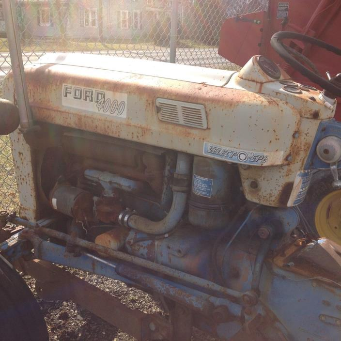 1964 Ford 4000 Select O Speed Tractor