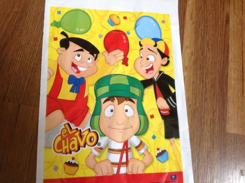 NEW EL CHAVO & FRIENDS 20 LOOT BAGS PARTY SUPPLIES, COOL!
