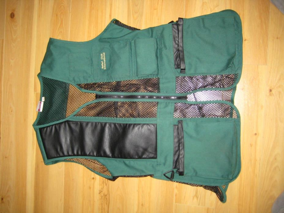Past Padded Right Shoulder Skeet/Trap Vest Safari Club International