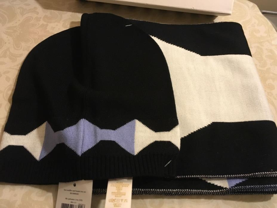New women's set by KATE SPADE-hat,scarf