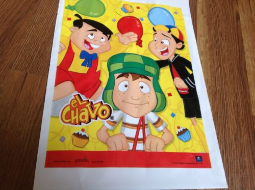 NEW EL CHAVO 16 BIRTHDAY LOOT TREAT CANDY BAGS PARTY SUPPLIES, COOL!