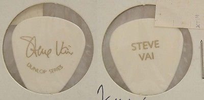 STEVE VAI - OLD DUNLOP SERIES PROMOTIONAL GUITAR PICK