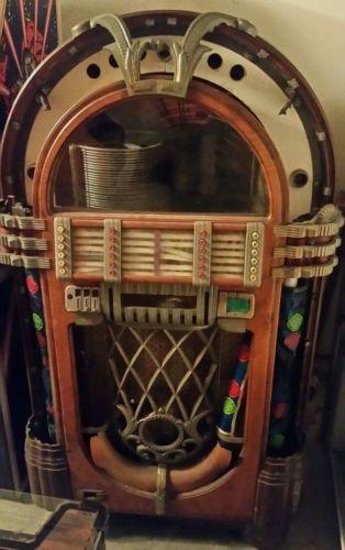 Wurlitzer 1015 Jukebox  Bubbler unrestored