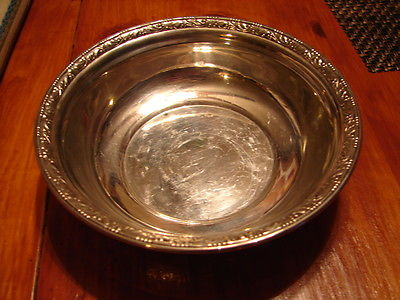 Antique Wallace Sterling 110 Bowl 5 1/2