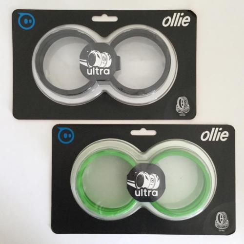 Set of 2 Ollie Ultra Tires by sphero - Green & Black