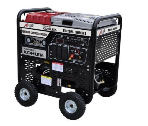 Kohler GAS AMP TRITON 9000RS welder compressor generator 3 in 1 Unit PICKUP ONLY