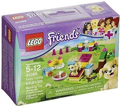 LEGO Friends  #41088 Puppy Training  65pc set  SEALED NEW