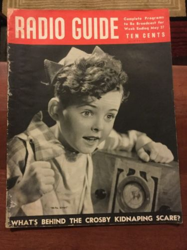 Vintage Radio Guide Magazine May 1939