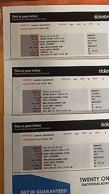 Neil Diamond 50th Anniv. Tour,  Save Mart Center, Fresno, CA 4/07/17