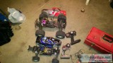 Two Gas Powered Cars with Extras Cheap!!!!