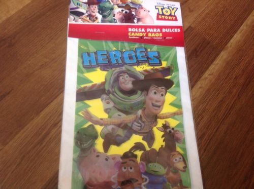 TOY STORY WOODY,BUZZ & FRIENDS 30 BIRTHDAY LOOT CANDY TREAT BAGS FOR YOUR PARTY!