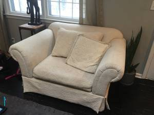 Free large chair/ small love seat