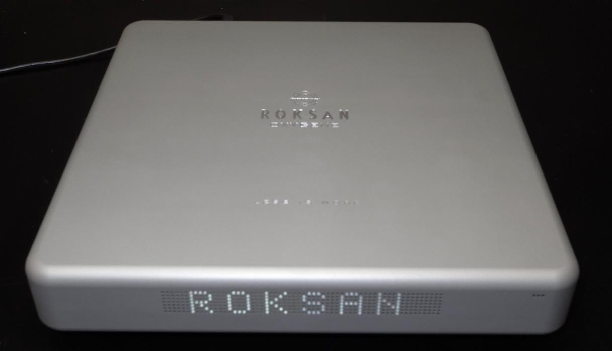 Roksan Oxygen Amplifier Demo Silver