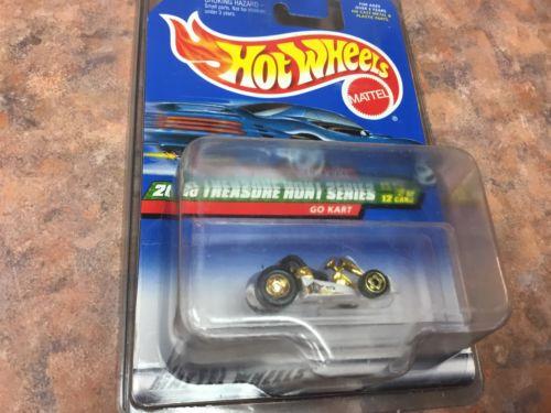 Hot Wheels 2000 Treasure Hunt Go Cart  !!!!!FREE SHIPPING!!!!