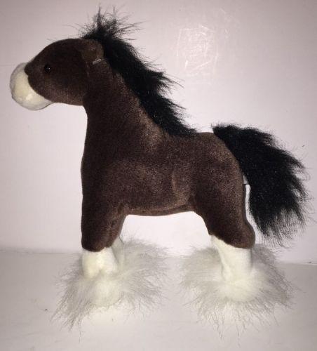 Gund Plush Clydesdale Horse 10