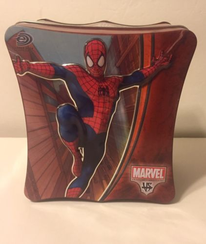 Spiderman Metal Tin Box