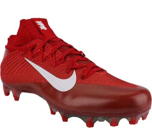 NIKE VAPOR UNTOUCHABLE 2 FOOTBALL CLEATS 824470-616 MEN 10.5 RED WHITE $200
