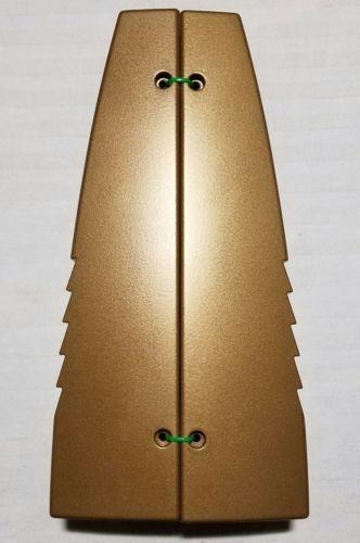 Rockford Fosgate gold amplifier end caps