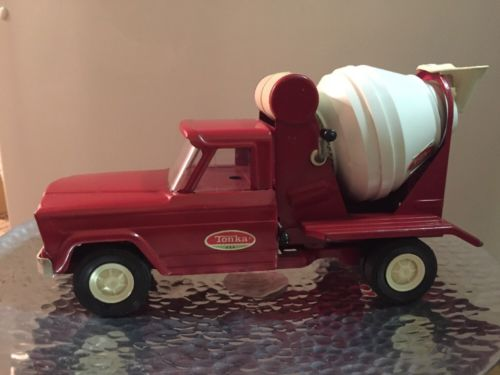 cement mixer trucks tonka toys