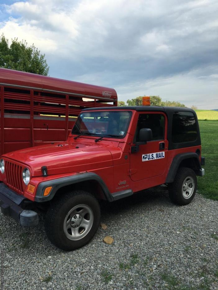 2004 Jeep Wrangler rhd