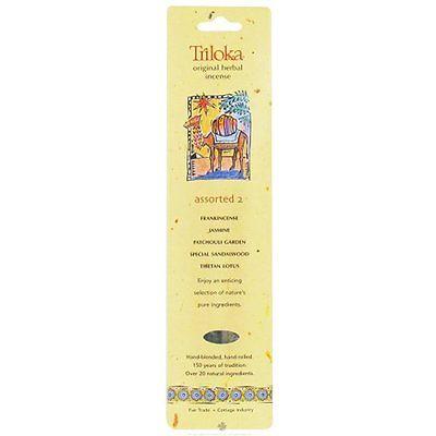 Triloka - Original Herbal Incense Assorted Fragrances 2 - 10 Stick(s)