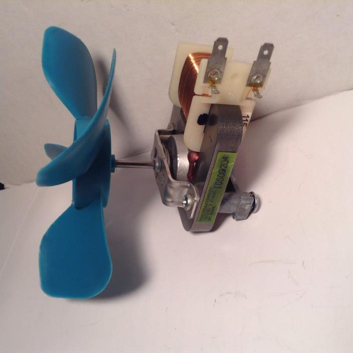 Sharp Microwave Cooling Fan Motor w/Fan Blade RMOTEA433WRZZ  Tested
