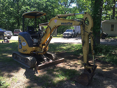 2006 Komatsu PC27 MR-2 Mini Excavator Tractor W/Dozer Blade Good Tracks