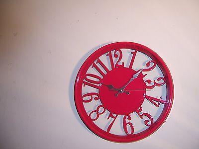 unique wall clock 12