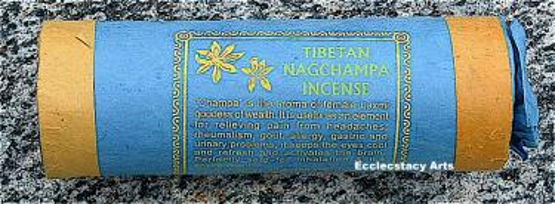 Tibetan Nag Champa Incense Sticks Resins-Natural Herbal-Handmade Traditional