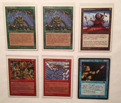 Magic The Gathering Lot Ice Age Artifact MTG (6 Cards)