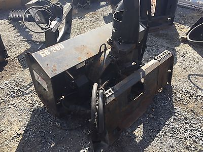 2005 Bobcat SB200 Snow Blower Attachment for Skid Steer Loaders. Coming in Soon!
