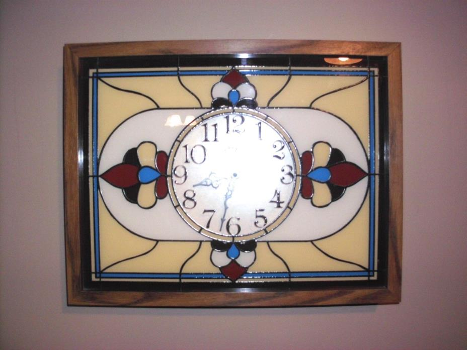 Stained Glass Clock For Sale Classifieds