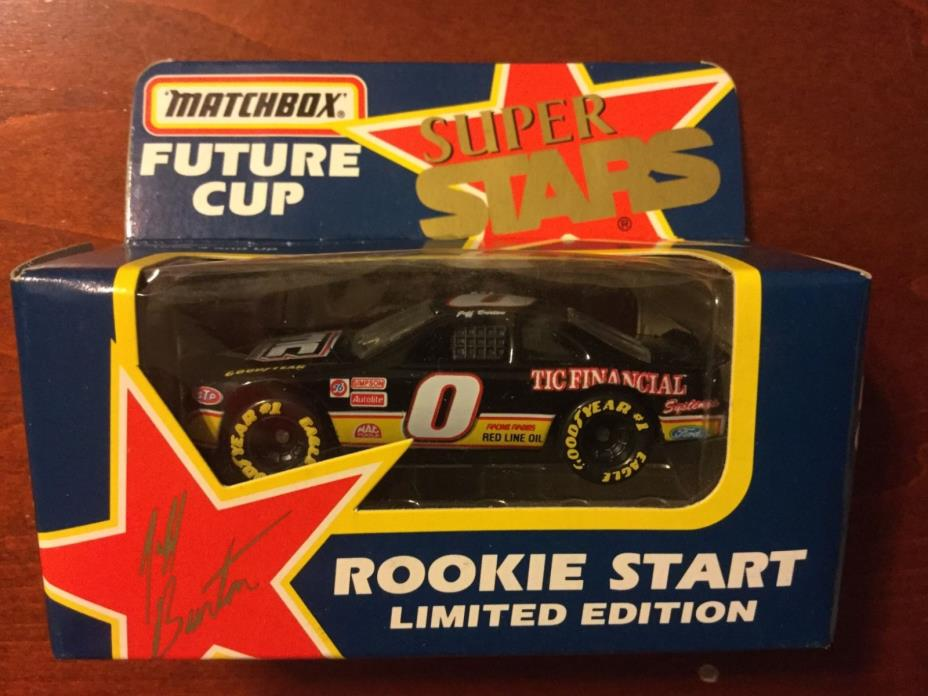 Jeff Burton #8 Tic Financial 1992 1/64 Matchbox Future Cup Superstars, NASCAR