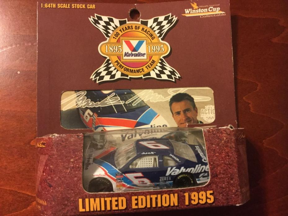 MARK MARTIN #6 Valvoline Action 100 Years of Racing 1995 1:64 Winston Cup NIB