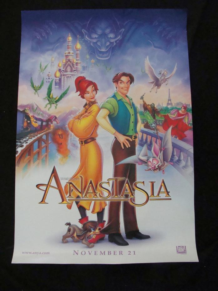 ANASTASIA movie poster LOT original D/S one sheet LOT OF TWO POSTERS Advance 97