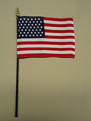 U.S. United States 49 Star 1959 - 1960 Historical Miniature Desk Flag 4