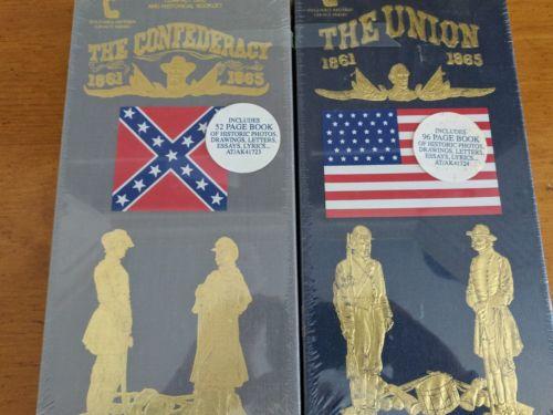 Civil War History CD set Sealed