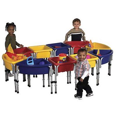 Offex 10 Station Sand & Water Table