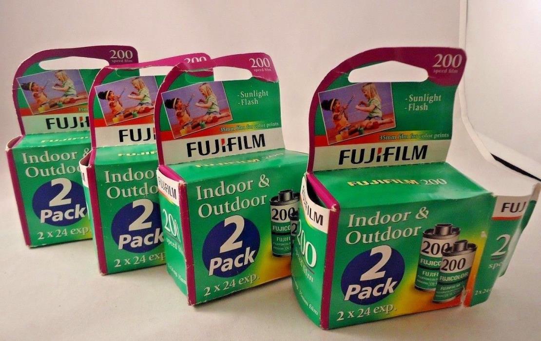 7 Rolls Fuji Film 200 Expired 35mm Film 24 exposures each