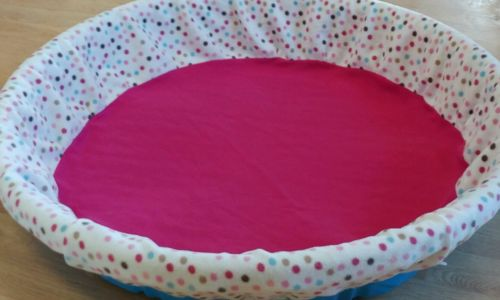 Medium Whelping Pool Cover by Tag's Puppy Stuff