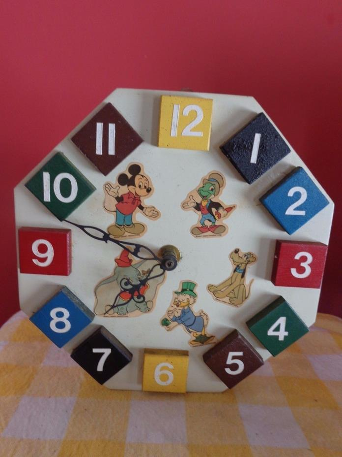 Vintage Mickey Mouse Wall Clock For Sale Classifieds
