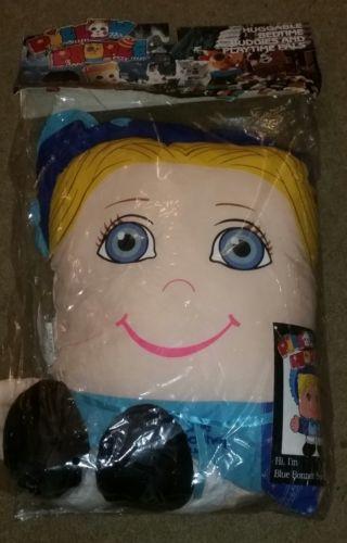 NEW IN PACKAGE Vintage Pillow People Blue Bonnet Sue Pillow Plush 1985 antique
