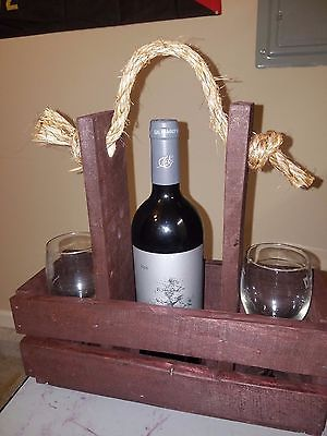 Wine and Glass Carrier/Holder