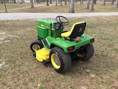 John Deere 332 Garden Tractor For Sale Classifieds
