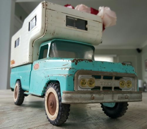 original perfect patina Tonka Camper Truck