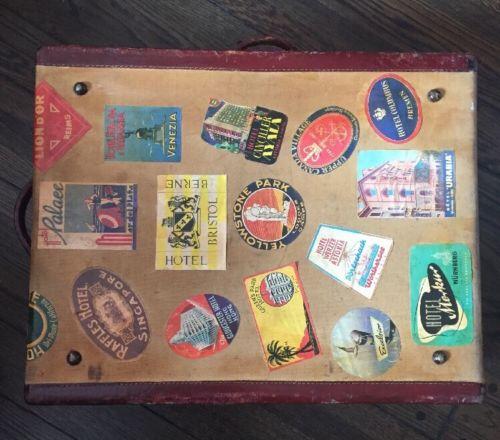 Vintage Antique Travel Trunk