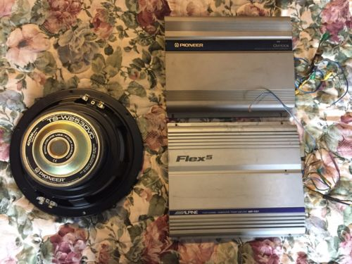 Alpine MRP-F257 & Pioneer GM-X304 Car Amplifiers + Pioneer 10