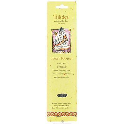 Tibetan Bouquet - Triloka Original Herbal Incense Sticks